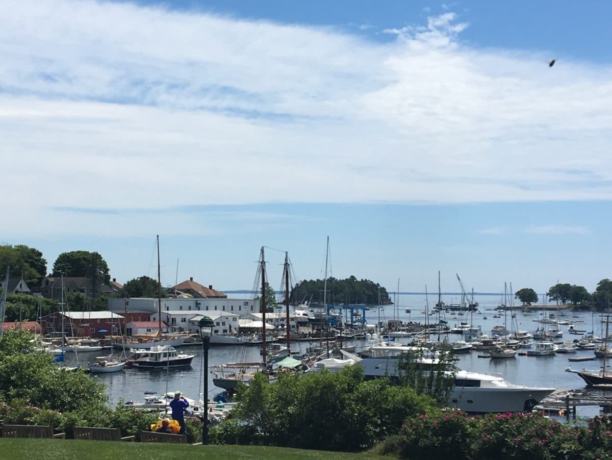 Camden Maine harbor