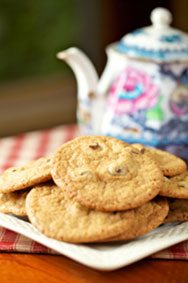 Homemade cookies at Timbercliffe Cottage