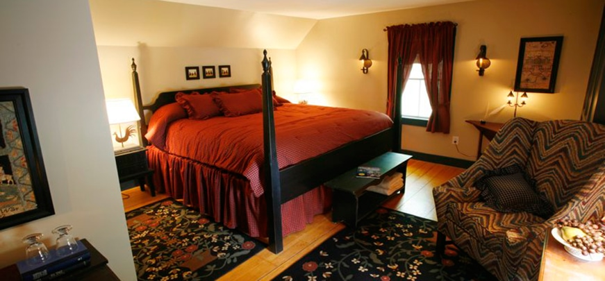 Goodwyfe Mary's 1790 room in Camden, ME